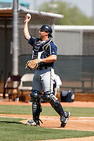 Derrick Alfonso - Milwaukee Brewers - 2009 spring training.Photo by:  Bill Mitchell/Four Seam Images