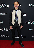 WESTWOOD, LOS ANGELES, CA, USA - JUNE 12: Rami Malek at the Los Angeles Premiere Of A24's 'The Rover' held at Regency Bruin Theatre on June 12, 2014 in Westwood, Los Angeles, California, United States. (Photo by Xavier Collin/Celebrity Monitor)