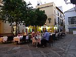 Restaurant in Seville, Spain.