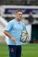 London Scottish head coach, Graham Steadman during the Championship Cup match between London Scottish Football Club and Nottingham Rugby at Richmond Athletic Ground, Richmond, United Kingdom on 28 September 2019. Photo by Carlton Myrie / PRiME Media Images