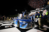 Monster Energy NASCAR Cup Series<br /> Go Bowling 400<br /> Kansas Speedway, Kansas City, KS USA<br /> Saturday 13 May 2017<br /> Martin Truex Jr, Furniture Row Racing, Auto-Owners Insurance Toyota Camry celebration<br /> World Copyright: Barry Cantrell<br /> LAT Images<br /> ref: Digital Image 17KAN1bc4836