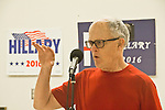 Hillary Clinton supporters, Bill Taylor, Pre-Caucus meeting, Port Townsend, Washington State, 02-17-2016, Jefferson County WA Democrats for Hillary, Washington State for Change,