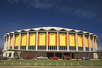 sports complex, Jackson, Mississippi, MS, Municipal Coliseum in Jackson in the spring.