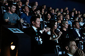 Scott Dixon and wife Emma watch the film