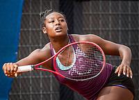 Amstelveen, Netherlands, 7 Juli, 2021, National Tennis Center, NTC, Amstelveen Womans Open, Alycia Parks (USA)<br /> Photo: Henk Koster/tennisimages.com