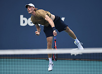 MIAMI GARDENS, FL - MARCH 29: Denis Shapovalov Vs Hubert Hurkacz at the 2021Miami Open at Hard Rock Stadium on March 29, 2021 in Miami Gardens, Florida. <br /> CAP/MPI04<br /> ©MPI04/Capital Pictures