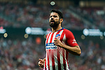 Diego Costa of Atletico de Madrid reacts during their International Champions Cup Europe 2018 match between Atletico de Madrid and FC Internazionale at Wanda Metropolitano on 11 August 2018, in Madrid, Spain. Photo by Diego Souto / Power Sport Images