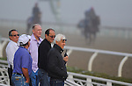 Bob Baffert is joins my owners and associates as horses exercise during Breeders' Cup week.