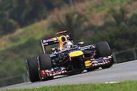 German Sebastian Vettel   on Redbull Renault  RB8.24/03/2012 Grand Prix Malesia, Sepang , Essais..Foto Insidefoto  /Bernard Asset / Panoramic.ITALY ONLY..