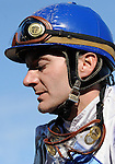 10 April 10: Decelerator (no. 1), ridden by Terry Thompson and trained by D. Wayne Lukas, wins the 8th running of the Instant Racing Stakes for three year old fillies at Oaklawn Park in Hot Springs, Arkansas.