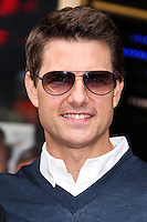 HOLLYWOOD, CA - JUNE 24: Tom Cruise attends the ceremony honoring Jerry Bruckheimer with a Star on The Hollywood Walk of Fame held in front of El Capitan Theatre on June 24, 2013 in Hollywood, California. (Photo by Celebrity Monitor)