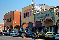 Venice CA: Old Center, Windward Ave.  Photo '82.