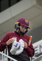 Northern's Eimear Richardson prepares to bat during the women's Hallyburton Johnstone Shield one-day cricket match between the Wellington Blaze and Northern Districts at the Basin Reserve in Wellington, New Zealand on Saturday, 21 November 2020. Photo: Dave Lintott / lintottphoto.co.nz