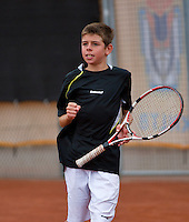 07-08-13, Netherlands, Rotterdam,  TV Victoria, Tennis, NJK 2013, National Junior Tennis Championships 2013, Lars Gillessen<br /> <br /> <br /> Photo: Henk Koster