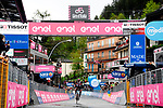 Joseph Dombrowski (USA) UAE Team Emirates wins Stage 4 of the 2021 Giro d'Italia, running 187km from Piacenza to Sestola, Italy. 11th May 2021.  <br /> Picture: LaPresse/Gian Mattia D'Alberto | Cyclefile<br /> <br /> All photos usage must carry mandatory copyright credit (© Cyclefile | LaPresse/Gian Mattia D'Alberto)