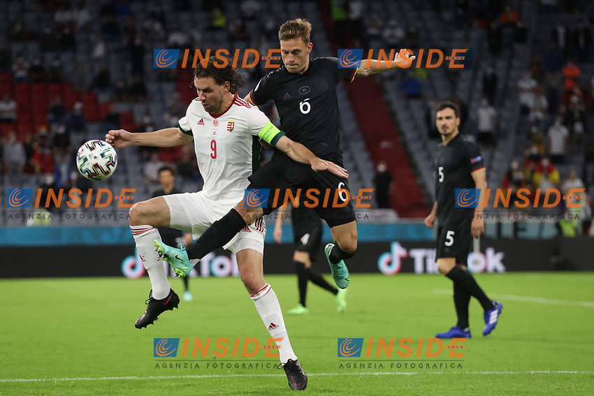 MUNICH, GERMANY - JUNE 23:  during the UEFA Euro 2020 Championship Group F match between Germany and Hungary at Allianz Arena on June 23, 2021 in Munich, Germany. (Photo by Alex Grimm - UEFA/UEFA via Getty Images)<br /> Photo Uefa/Insidefoto ITA ONLY