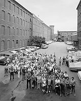Wannalancit Textile mill workers portrait, (Ted Larter) Lowell, MA  (ca 1977)