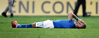 Soccer Football - 2018 World Cup Qualifications - Europe - Italy vs Sweden - San Siro, Milan, Italy - November 13, 2017 <br /> Italy's Ciro Immobile looks dejected at the end of the FIFA World Cup 2018 qualification football match between Italy and Sweden at the San Siro stadium in Milan, on November 13, 2017. <br /> Italy failed to reach the World Cup for the first time since 1958.<br /> UPDATE IMAGES PRESS/Isabella Bonotto