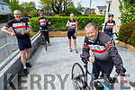 Members of the Tralee Chain Gang cycling club, launch their 2k 60 minute cycle fundraiser for the KUH's ICU dept on Friday.<br /> Front: John Murray (Chairman).<br /> Back l to r: Dave Elton, Tomas Crowley, Avril Hewitt and Jennifer Crowley.