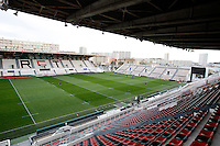 Photo: Richard Lane/Richard Lane Photography. Wasps rugby team and supporters travel to Toulon for the RC Toulon v Wasps.  European Rugby Champions Cup Quarter Final. 04/04/2015. Stade Félix Mayol, home to RC Toulon.