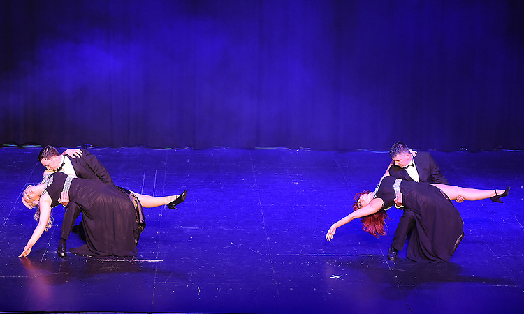Skyfall performing at the Drogheda Town FC dance show in the TLT. Photo:Colin Bell/pressphotos.ie