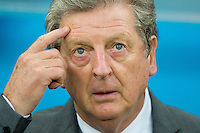 England manager Roy Hodgson looks confused