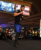 LAS VEGAS - JULY 17: Juan Carlos Payano attends the media workout for the PBC on Fox Sports Pay-Per-View at the MGM Grand on July 17, 2019 in Las Vegas, Nevada. (Photo by Frank Micelotta/Fox Sports/PictureGroup)