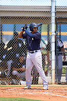 FCL Yankees Jose Martinez (36) bats during a game against the FCL Tigers on June 28, 2021 at Tigertown in Lakeland, Florida.  (Mike Janes/Four Seam Images)