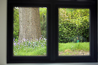 Pictured: The view out the window from one of the affordable flats. Wednesday 26 April 2017<br /> Re: Waterstone Homes' most recent property development Howell's Reach, is in Derwen Fawr, Swansea and is made up of 13 luxury family homes, and also includes five affordable homes.