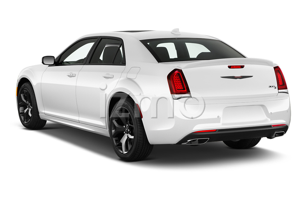 Rear three quarter view of a 2021 Chrysler 300 s 4 Door Sedan
