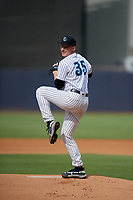 Tampa Tarpons pitcher Trevor Stephan (35) during a Florida State League game against the Jupiter Hammerheads on July 26, 2019 at George M. Steinbrenner Field in Tampa, Florida.  Tampa defeated Jupiter 2-0.  (Mike Janes/Four Seam Images)