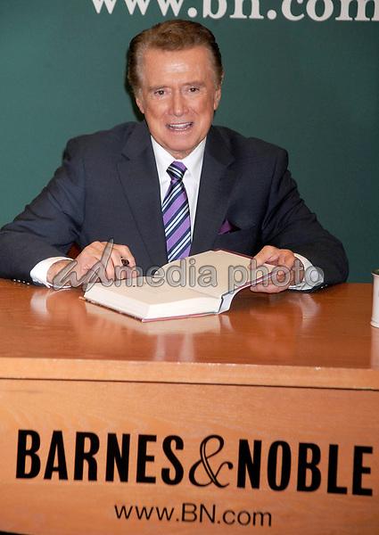 Regis Philbin dies at 88 - 15 November 2011 - New York, NY - Regis Philbin promotes 'How I Got This Way' at the Barnes & Noble on 5th Avenue. Photo Credit: Dennis Van Tine/Photoshot/AdMediaRegis Philbin dies at 88