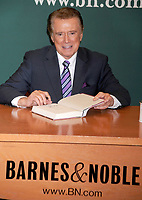 Regis Philbin dies at 88 - 15 November 2011 - New York, NY - Regis Philbin promotes 'How I Got This Way' at the Barnes & Noble on 5th Avenue. Photo Credit: Dennis Van Tine/Photoshot/AdMediaRegis Philbin dies at 88