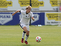 20180305 - LARNACA , CYPRUS : Italian Elena Linari pictured during a women's soccer game between Finland and Italy , on monday 5 March 2018 at the AEK Arena in Larnaca , Cyprus . This is the third game in group A for Finland and Italy during the Cyprus Womens Cup , a prestigious women soccer tournament as a preparation on the World Cup 2019 qualification duels. PHOTO SPORTPIX.BE | DAVID CATRY