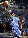 Canyon Springs' Jordan Davis makes a shot against Bishop Gorman in the Division I championship game in the NIAA basketball state tournament at Lawlor Events Center, in Reno, Nev., on Friday, Feb. 28, 2014. Bishop Gorman won the title 71-58. (Cathleen Allison/Las Vegas Review-Journal)