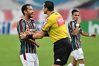 2nd June 2021; Maracana Stadium, Rio de Janeiro, Brazil; Copa do Brazil, Fluminense versus Red Bull Bragantino; Nenê of Fluminense argues with referee Ricardo Marques Ribeiro