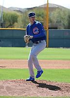 Kohl Franklin - Chicago Cubs 2019 spring training (Bill Mitchell)