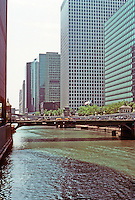 Chicago: Looking down S. Branch of Chicago River from Madison.