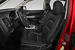 Front seat view of 2021 Chevrolet Colorado ZR2 4 Door Pick-up Front Seat  car photos