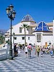 Spain, Costa Blanca, Benidorm: St. James Church - Old Town | Spanien, Costa Blanca, Benidorm: St. James Kirche in der Altstadt