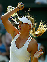 1-7-06,England, London, Wimbledon, fourth round match,  Maria Sharapova