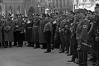 Germany 1932-35<br /> photographed by Wilhem Walther - Nazis gathering, APRIL 20,1938