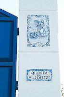 azulejos quinta de sao jorge alentejo portugal