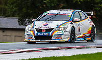 23rd August 2020; Oulton Park Circuit, Little Budworth, Cheshire, England; Kwik Fit British Touring Car Championship, Oulton Park, Race Day;  Sam Osborne MB Motorsport driving a Honda Civic Type R in race 2