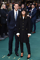 "Chris Thykier and wife, Claudia Winkleman<br /> arriving for the ""TOLKIEN"" premiere at the Curzon Mayfair, London<br /> <br /> ©Ash Knotek  D3499  29/04/2019"
