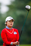 Ye Na Chung of Korea in action during the Hyundai China Ladies Open 2014 on December 12 2014, in Shenzhen, China. Photo by Xaume Olleros / Power Sport Images