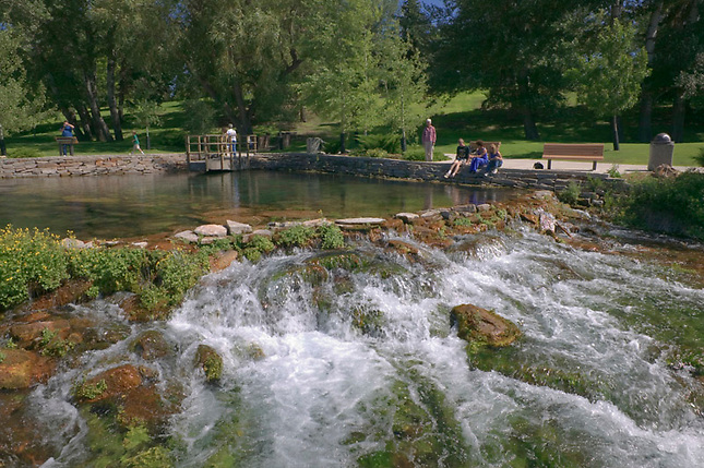 Gaint Springs at Lewis & Clark Intertretive Center
