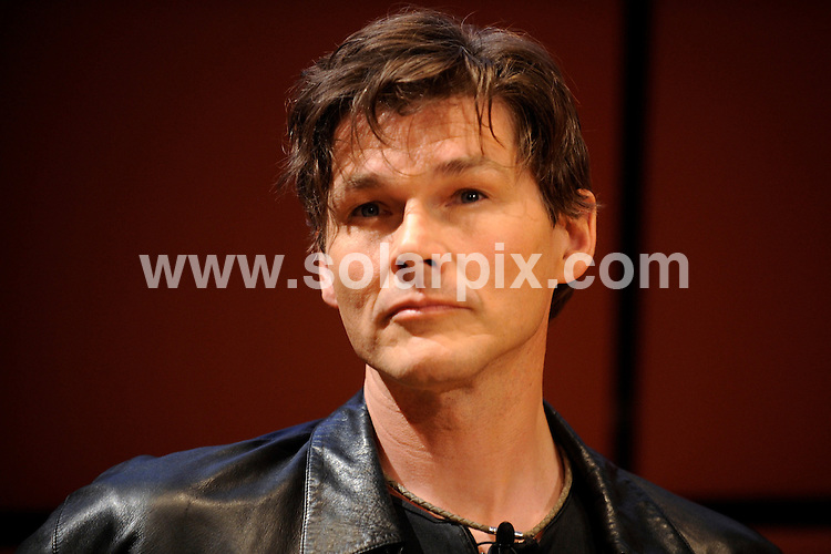 """**ALL ROUND PICTURES FROM SOLARPIX.COM**.**SYNDICATION RIGHTS FOR UK AND SPAIN ONLY**.A-ha pictured at the press conference of the new CD release """"food of the mountain"""". Held at the Norwegian embassy in Berlin, Germany. 11 June 2009.This pic: Morten Harket..JOB REF: 9212 CPR (Schmidt)       DATE: 11_06_2009.**MUST CREDIT SOLARPIX.COM OR DOUBLE FEE WILL BE CHARGED**.**ONLINE USAGE FEE GBP 50.00 PER PICTURE - NOTIFICATION OF USAGE TO PHOTO @ SOLARPIX.COM**.**CALL SOLARPIX : +34 952 811 768 or LOW RATE FROM UK 0844 617 7637**"""