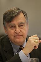 Lucien Bouchard in December 2012,<br /> <br /> File Photo : Agence Quebec Presse