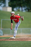 Pitcher Daniel Rodriguez (10) during the Dominican Prospect League Elite Underclass International Series, powered by Baseball Factory, on August 1, 2017 at Silver Cross Field in Joliet, Illinois.  (Mike Janes/Four Seam Images)